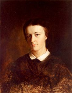 Artur Grottger - Portret Marii Sawiczewskiej, siostry artysty