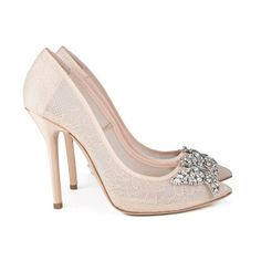 38c7a9765c17 16 Best Blush bridal shoes images