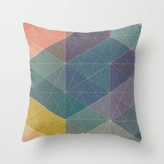 Blau Pastell geometrische Muster Kissen Fall dekorative Throw pillow auf Etsy, 24,51€
