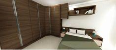 Armário em suite, planejado