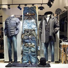 "WOSJH, Amsterdam, The Netherlands, ""Food, Water, Denim. Let's get back to the essentials"", pinned by Ton van der Veer"