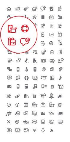 Vipnet Croatia 100+ Icon Set on Behance