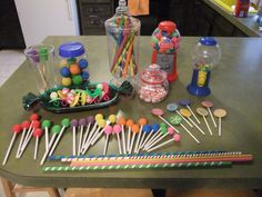 dramatic play candy store could probably use these for a measuring activity in the dramatic play area