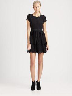 Joie Kimare Lace Dress