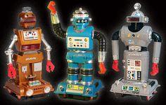 Zeroids Robot Toys