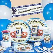 Oktoberfest Beer Bottle Labels