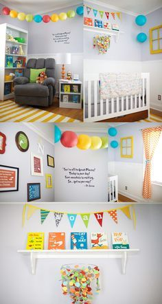 Dr Suess Themed Nursery Oh The Places You Ll Go Cute For