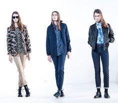Lookbook Carhartt WIP – womens collection (Fall/Winter 2014)