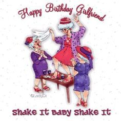 Happy Birthday to use in Facebook. For someone 50yrs and older. (Red Hat Society)