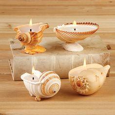 Sea shells decoration ideas - Little Piece Of Me candles with seashells Seashell Candles, Seashell Art, Seashell Crafts, Homemade Candles, Diy Candles, Ideas Candles, Sea Crafts, Home Crafts, Deco Marine