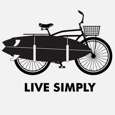 Live simply, pinned with Bazaart