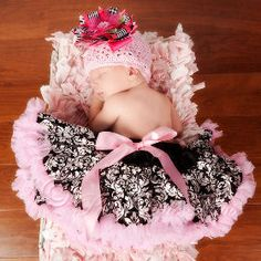 Damask Infant Pettiskirt 0-6 months – Baby Bling Things Boutique Online Store