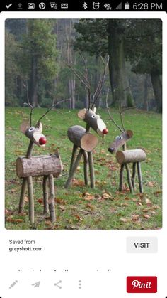 Want these deer for backyard