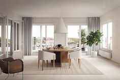 TDC: Beautiful new work by Lotta Agaton Interiors for Patriam