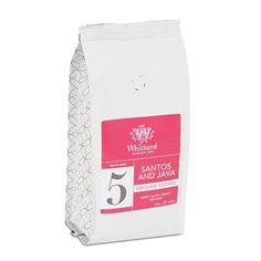 Santos and Java Ground Coffee Valve Pack