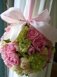 Wedding, Flowers, Pink, Green