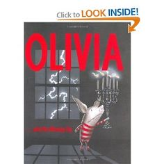 Olivia and the Missing Toy- the funniest Olivia book according to my kids.