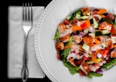 Budget-Friendly BBQ Chicken Salad - American Diabetes Association® #genteelcares #diabeticrecipe