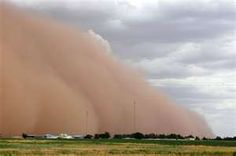 West Texas dust storms