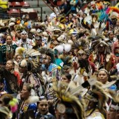 Photographer Clarissa Friday with Native Clarity Photography was out at the Hunting Moon Pow Wow in Milwaukee, WI back in October and beautifully captured the spirit of the event. I know you'll love these portraits and other candid moments. Great.....