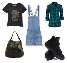 """""""Untitled #12"""" by dcrc on Polyvore featuring Madewell, Abercrombie & Fitch, Converse and RVCA"""