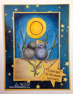With Tails Entwined from Stampendous' House-Mouse Designs collection, you just feel the love in the air! Card Making Inspiration, Making Ideas, House Mouse Stamps, Mouse Color, Copics, Scrapbook Cards, Scrapbooking, Creative Cards, Cool Cards