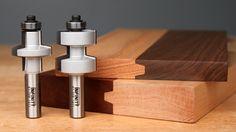Bevel Glue Joint Router Bit Set | Carbide Router Bits