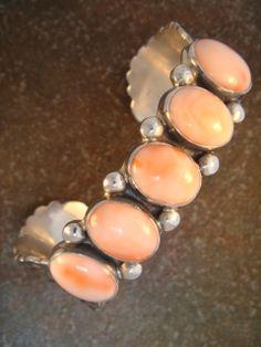 Pink Coral Cuff Bracelet - www.shoprewards.com