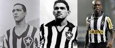 Heleno, Garrincha e Seedorf, Botafogo de Futebol e Regatas.#jorgenca