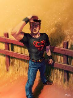 SuperBoy by Cris-Art.deviantart.com on @deviantART