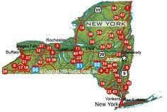 New York ski resorts, New York downhill skiing, New York alpine skiing, New York snowboarding