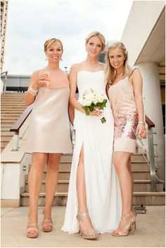 Blush bridesmaid mai