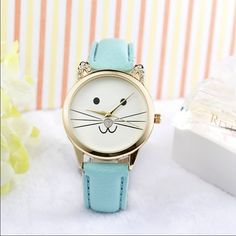Kitty Face Watch Kitty Face Watch Accessories Watches