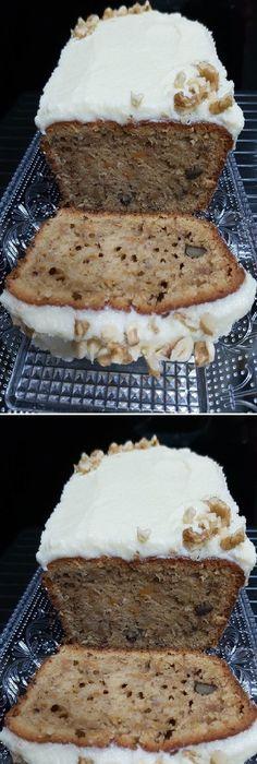 Vanilla Cake, Banana Bread, Food Porn, Good Food, Brunch, Pie, Sweets, Cookies, Desserts