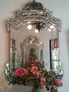 Venetian mirror by francisca