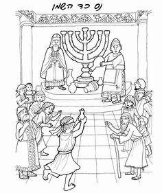 Hanukkah Coloring Pages