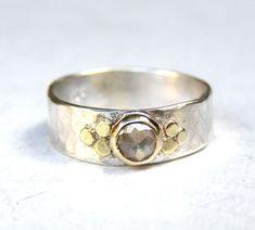 Handmade Engagement RingTrending ring Fine 14k gold by OritNaar