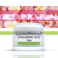 Hyaluronic acid cream hydrates skin, reduces lines and wrinkles and can even replace a day/night cream combo.