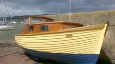 """""""Iona"""" is a one off 21ft clinker cabin cruiser built in 1970  Well it is all done and she is now afloat well at least when the tide is in.   She is finished"""