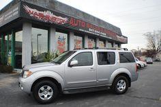 2005 Nissan Pathfinder SE Silver Used SUV 4x4 Sale Antioch Zion Waukegan