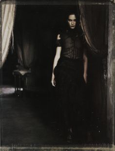 "Erin Wasson in ""Pale Shades"" by Paolo Roversi for Vogue Italia March 2002"