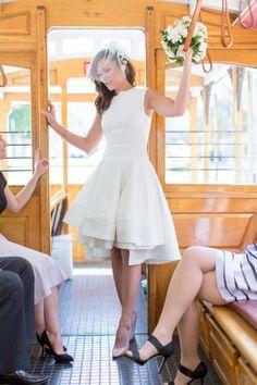Urban Romance | A Chic San Francisco City Hall Wedding | Red Eye Collection Photography