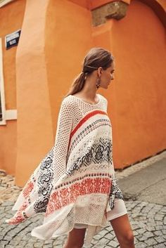 Sleeping on Snow Risen Sun Sweater Dress #anthropologie #sweater #dress #red #white #black