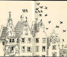 Inspiring picture house, ill., illustration, ink, moleskine. Resolution: 480x376 px. Find the picture to your taste!