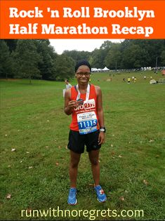 Check out my recap of the Rock 'n Roll Brooklyn Half Marathon that took place on October 14, 2017! You can find more race recaps at runwithnoregrets.com!