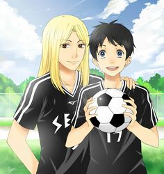 DAYS soccer anime Drawing by me!