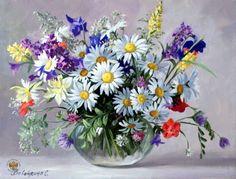 Картинки по запросу картины цветы