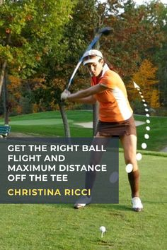 Christina Ricci demonstrates how synchronizing your downswing gives you control over direction and unlocks extra distance off the tee. #golf #golftip #golfswing #golflessons #womensgolf Driving Practice, Golf Books, Golf Score, Club Face, Best Golf Courses, Driving Tips, Golf Instruction, Golf Putting, Golf Exercises