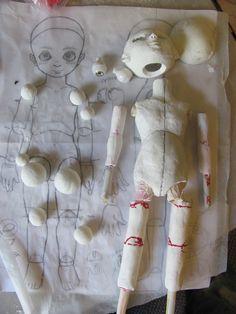 ball jointed dolls de animes - Pesquisa Google