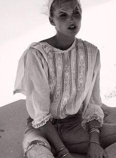 Elsa Hosk x Re/Done Coming Fall 2015 #ElsaHosk #ReDoneCollaborations